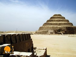 The Step Pyramid of King Djoser - Sakkara