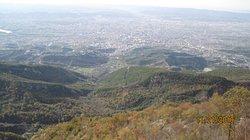 Tirana from the mountain