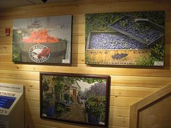 A selection of the available art work.