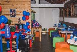 Faça sua festa conosco