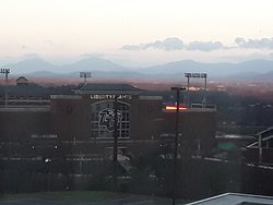 View of Liberty University