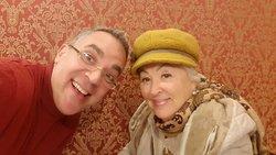 Mia madre è venuta a trovarmi a Roma dopo aver viaggiato 1 mese in Asia, ha 80 anni di pura energia.