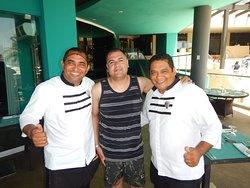 Carlos Nicolas and Francisco are awesome servers at Mercado!