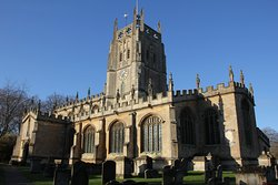 291119 St Mary's Fairford - beautiful