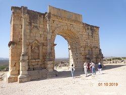 Arco do Triunfo de Caracala - Volubilis