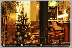 Special Christmas Atmosphere you will ever have at Cloves Restaurant.