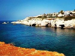 Sea caves of Saint George