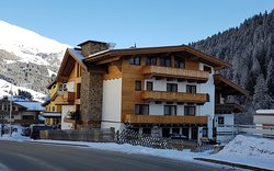 Pension Alpengruss from  outside