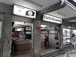 Fachada do Café Palhares, Rua dos Tupinambás, 638 - Centro