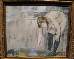 Woman with a Tub