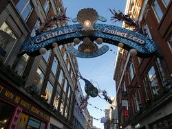 Carnaby Street, Soho, London
