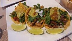 Adobada, Pollo Asada, & Carne Asada Tacos