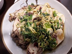 Steamed Chicken with Ginger, SpringOnion, Rice Wine & Soy Sauce