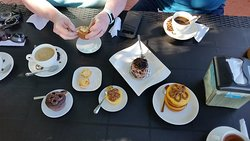 The sampling of pastries we shared