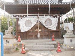 お菊神社本殿