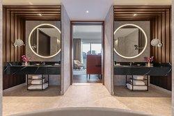 Ambassador Suite - Bathroom with double sinks