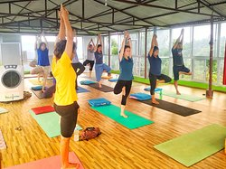 The nature of yoga is to shine the light of awareness into the darkest corners of the body. #yoga #meditation #love #nepal #life #exercise #visitnepal2020🇳🇵 #YogaTeacherTraining #visitus #instagood #instagram #peace #pokhara #begnas #perfectplaceforyoga #healthylifestyle