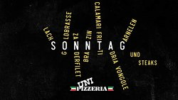Sunday @ Uni-Pizzeria Klagenfurt Salmon, Seabream, Pike Perch, Sea Bass, Calamari, Clams, Shrimp and Steaks!