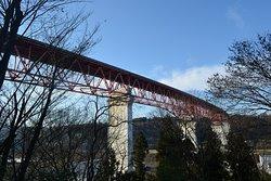 関越の橋の近景
