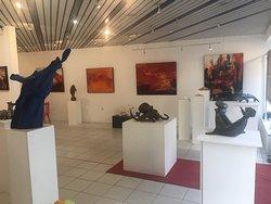 Expo à La Nouvelle Galerie, Saint-Quay