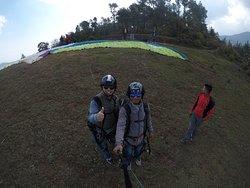 Kathmandu Paragliding take-off point - Chapakharka, Godawari