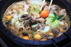 Our delicious chicken sukiyaki