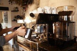 Freshly Ground Coffee, mmmm.