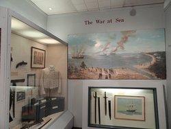 Part of the Naval War at Sea Display