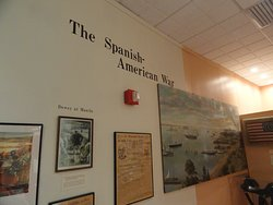 Part of the Spanish-American War Display