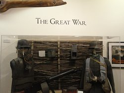 Part of the World War 1 Display