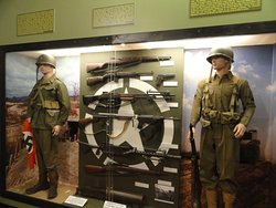 Part of the World War 2 Display