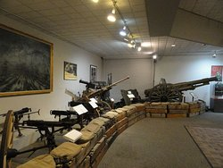 Some of the Many Weapons on Display