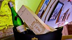 ... auch Champagner darf nicht fehlen