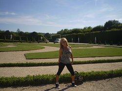 en los Jardines de Versalles