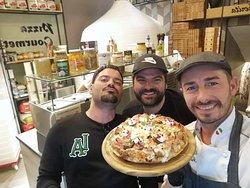 Staf pizzeria Ninnone
