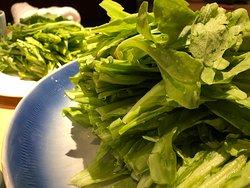 青翠新鮮的青菜