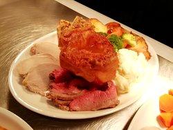 Sunday roast. Only £8.95