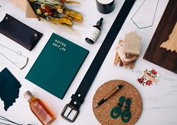 Shop handmade goods from over 60 makers.