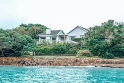 Greenhole Cottage, from the water