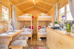 Schäferwagen-Häusle für 4 Personen