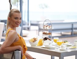 The Fig Leaf - breakfast at the terrace