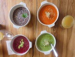 Delicious healthy vegan restaurant