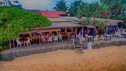 JLH Beach Restaurant Beach side View