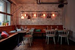 RIBELLI Restaurant Interior  Foto: © Steve Herud