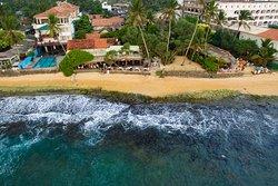 JLH Restaurant Sea side Bird eye view