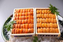 sea urchin (bafun-uni, murassaki-uni)