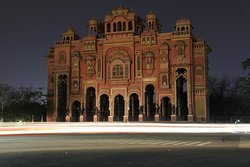 Night view of Patrika gate.