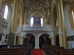 Orgel der Stiftskirche