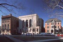 The Newark Museum and Ballatine House.