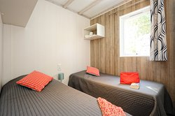 Chalet famille-chambre 2 lits
